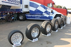 Series of BFGoodrich off-road tires