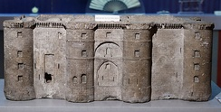 A model of the Bastille made by Pierre-François Palloy from one of the stones of the fortress