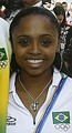 Daiane dos Santos is: 40.8% European, 39.7% African and 19.6% Amerindian
