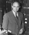 Enrico Fermi, builder of the first nuclear reactor.