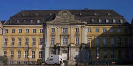 Main building of the Folkwang University in Essen-Werden