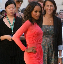 Washington at the premiere of Mother and Child at TIFF in 2009