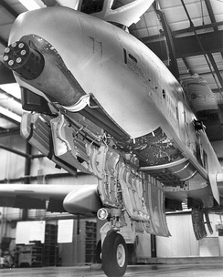 GAU-8 mounted in A-10