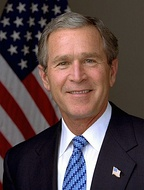 George W. Bush, the President of the United States, begins his second term on January 20.