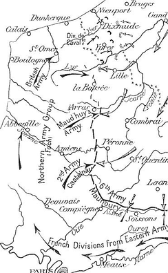 German and Allied operations, Artois and Flanders, September–November 1914