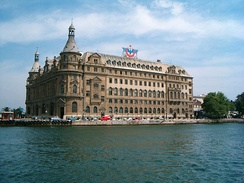 Haydarpaşa Terminal on the Anatolian side of Istanbul was opened in 1908 as the terminus of the Istanbul-Konya-Baghdad and Istanbul-Damascus-Medina lines.