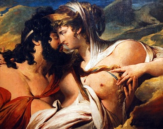 Jupiter and Juno on Mount Ida by James Barry, 1773 (City Art Galleries, Sheffield.)