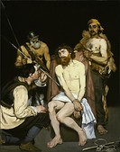 Édouard Manet, Jesus Mocked by the Soldiers, 1864–1865