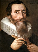 Johannes Kepler (1571–1630), astronomer and mathematician