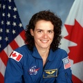 Julie Payette, former astronaut and current Governor-General of Canada, the 29th.