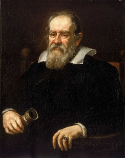 Galileo Galilei, regarded as the father of modern science.[76]: Vol. 24, No. 1, p. 36