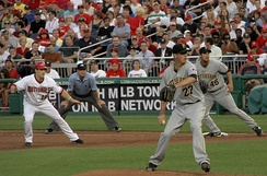 A Pirates-Nationals game in 2010