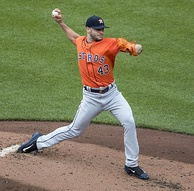 Lance McCullers Jr. earned the win in Game 3.