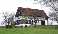 18th century farmhouse near Kouřim, central Bohemia
