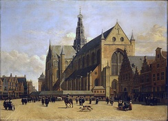 The Grote Kerk in Haarlem, Dutch Republic, c. 1665