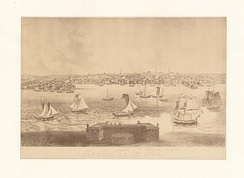 Newport, R.I. in 1730, New York Public Library