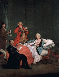 Hot chocolate was a fashionable drink in Venice during the 1770s and 1780s.