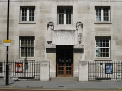 The Royal Academy of Dramatic Art at 62 Gower Street, London WC1E 6ED.