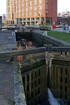 River Lock and Retaining Walls to River Aire