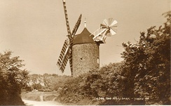 """Le Moulin"" windmill, c. 1905"