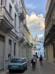 Old Havana from street level