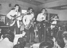Los Teen Tops playing live in Argentina in 1962.