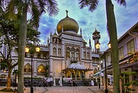 Sultan Mosque, a historic mosque in Kampong Glam