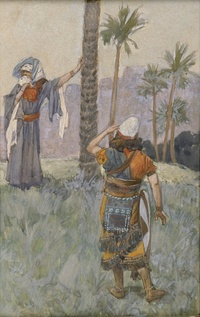 Deborah Beneath the Palm Tree (c. 1896–1902), James Tissot