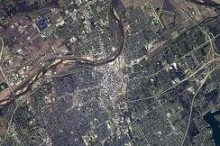 Aerial image of Topeka (2003)