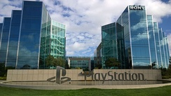 Sony Interactive Entertainment headquarters in San Mateo, California.