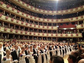 Debutants entry at the Vienna Opera Ball