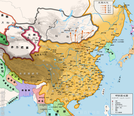 Ming China under the Yongle Emperor's reign (1424)