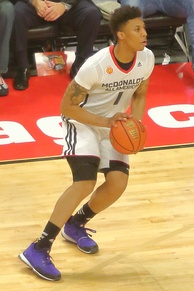 Malachi Richardson at the 2015 McDonald's All-American Boys Game