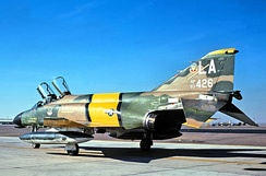 426th TFTS F-4C-16-MC Phantom F-4C 63-7426.  Later converted to an GF-4C instructional airframe at Sheppard AFB, TX.  Now an on pedestal there