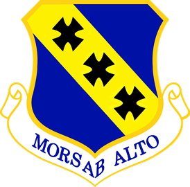 The 7th Bomb Wing's motto is Mors Ab Alto (Death From Above).