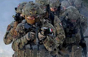 Italian special forces of Col Moschin