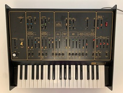 ARP Odyssey Mk1 - black/gold version