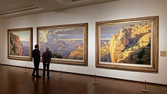 October Suite: Grand Canyon by Wilson Hurley at the Eiteljorg Museum of American Indians and Western Art.