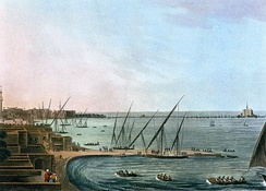 Alexandria in the late 18th century, by Luigi Mayer