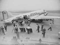 American DC-3 used in a 1943 war film
