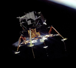 In 1969, Héroux-Devtek designed and manufactured the undercarriage of Apollo Lunar Module.