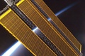 Solar modules on the International Space Station