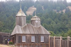 Fort Ross was established by the Russians in 1812.