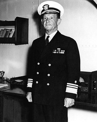 Frank Jack Fletcher, commander of U.S. Task Force 17