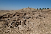 Göbekli Tepe in Turkey, founded in 10th millennium BC and abandoned in 8th millennium BC