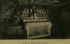 The Grotto of Elijah.