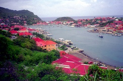 A view of Gustavia.