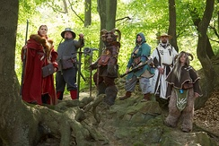 A fantasy LARP group