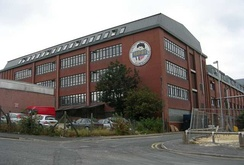 Haribo factory in Pontefract on the A639 in the centre of the town near Tanshelf station