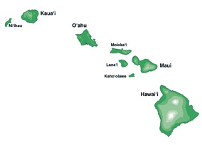Main Hawaiian Islands
